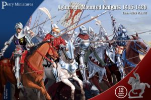 Perry Miniatures   Perry Miniatures Agincourt Mounted Knights 1415-1429 - AO70 - AO70