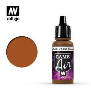 Vallejo   Game Air Game Air: Brassy Brass - VAL72758 - 8429551727587