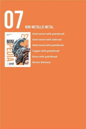 Scale75   Painting Guides Minipedia 07 - Non-metallic Metal - MiniPed07 -