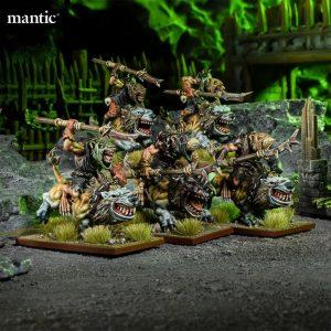 Mantic Kings of War  Ratkin Ratkin Hackpaws Troop - MGKWRK303 - 5060469666860
