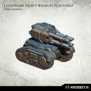 Kromlech   Legionary Model Kits Legionary Heavy Weapon Platform: Quad Lascannon (1) - KRM112 - 5902216114418