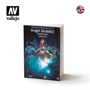 Vallejo   Painting Guides Painting miniatures A to Z Vol. 2 Book by A. Giraldez - VAL75010 - 9788461747153