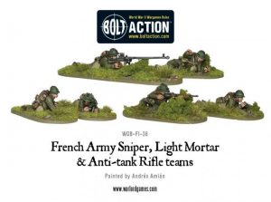 Warlord Games Bolt Action  France (BA) French Army Special Weapons Teams - WGB-FI-36 - 5060393701484