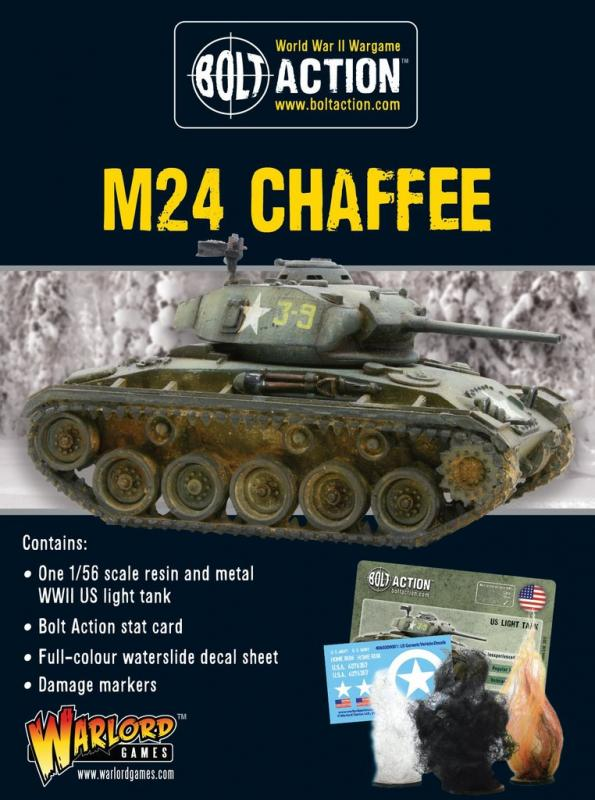 Warlord Games Bolt Action  United States of America (BA) M24 Chaffee, US light tank - 402413003 - 5060200844311