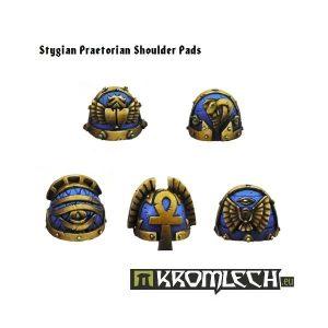 Kromlech   Heretic Legionary Conversion Parts Stygian Praetorian Shoulder Pads (10) - KRCB082 - 5902216110809