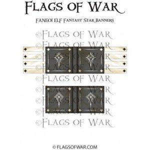 North Star Oathmark  Oathmark ELF Fantasy Star Banners - FANE01 -