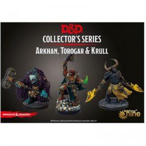 Gale Force Nine Dungeons & Dragons  D&D Miniatures D&D: Arkhan, Trogad & Krull - GFN71098 - 9420020248762