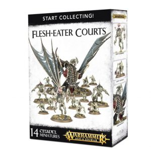 Games Workshop Age of Sigmar  Flesh Eater Courts Start Collecting! Flesh-Eater Courts - 99120207039 - 5011921076628