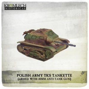 Kromlech   Kromlech Historical Polish Army TKS Tankette - KHWW2015 - 5902216117655