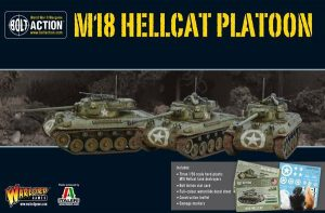 Warlord Games Bolt Action  United States of America (BA) Hellcat Platoon - 402013003 - 5060393704690