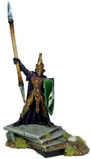 Mantic Kings of War  Elf Armies Elf King with Spear - MGKWE92-1 - 5060208863079