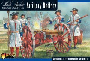 Warlord Games Black Powder  Marlborough's Wars Marlborough's Wars: Artillery battery - 302015006 - 5060393704676