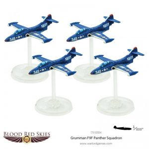 Warlord Games (Direct) Blood Red Skies  Blood Red Skies Blood Red Skies: Grumman F9F Panther Squadron - 775102054 -