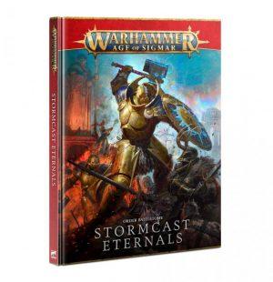 Games Workshop Age of Sigmar  Stormcast Eternals Battletome: Stormcast Eternals (2021) - 60030218007 - 9781839064579