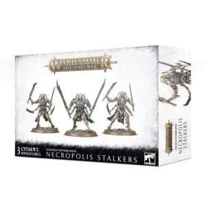 Games Workshop Age of Sigmar  Ossiarch Bonereapers Ossiarch Bonereapers Necropolis Stalkers - 99120207081 - 5011921126286