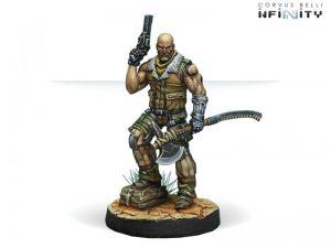 Corvus Belli Infinity  Ariadna Roger Van Zant (Heavy Pistol, AP CCW) - 280177-0549 - 2801770005497