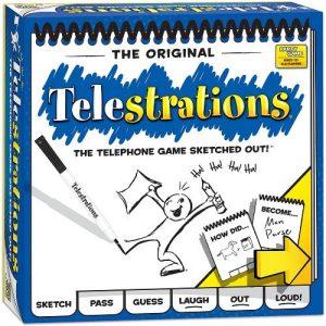 USAopoly Telestrations  Telestrations Telestrations - TELUK01 - 3558380067030