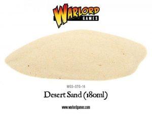 Warlord Games   Sand & Flock Desert Sand - WGS-STG-14 - 5060393703471