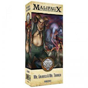 Wyrd Malifaux  Ten Thunders Alt Graves and Tannen - WYR23735 -