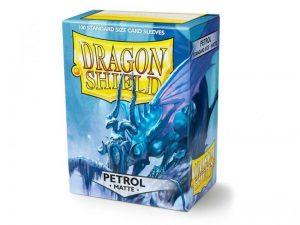 Dragon Shield   Dragon Shield Dragon Shield Sleeves Matte Petrol (100) - DS100MPET - 5706569110208