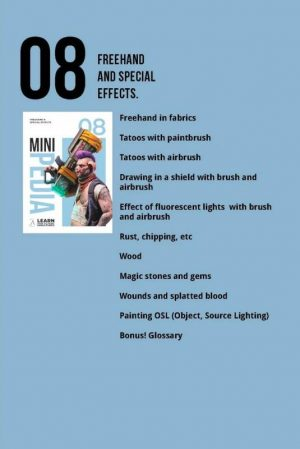 Scale75   Painting Guides Minipedia 08 - Freehand & Special Effects - MiniPed08 -