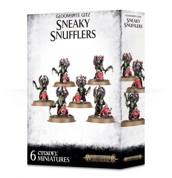 Games Workshop (Direct) Age of Sigmar  Gloomspite Gitz Gloomspite Gitz Sneaky Snufflers - 99120209048 - 5011921112210