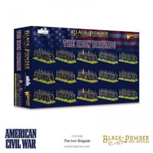 Warlord Games Black Powder Epic Battles  Black Powder Epic Battles Epic Battles: American Civil War The Iron Brigade - 312414006 - 5060572509276