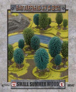 Battlefront   Battlefield in a Box Battlefield in a Box: Small Summer Wood - BB542 - 9420020217645