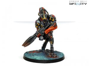 Corvus Belli Infinity  Combined Army The Charontids (Plasma Rifle) - 280688-0692 - 2806880006921