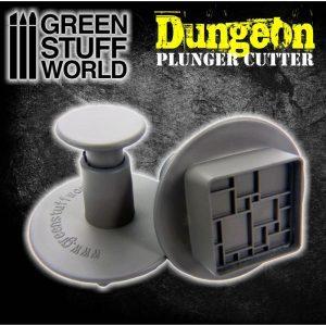 Green Stuff World   Stamps & Punches Dungeon Plunger Cutter - 8436554368976ES - 8436554368976