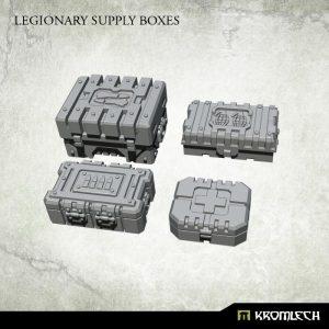 Kromlech   Kromlech Terrain Legionary Supply Boxes (4) - KRBK028 - 5902216117761