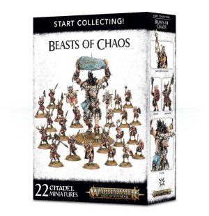 Games Workshop Age of Sigmar  Beasts of Chaos Start Collecting! Beasts of Chaos - 99120216010 - 5011921104871