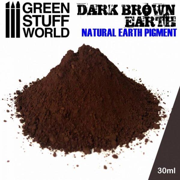 Green Stuff World   Powder Pigments Pigment DARK BROWN EARTH - 8436574501254ES - 8436574501254