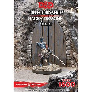 Gale Force Nine Dungeons & Dragons  D&D Miniatures D&D: Demon Lord Graz'zt - GFN71047 - 9420020229433
