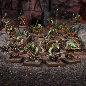 Mantic Kings of War  Goblins Goblin Regiment - MGKWG301 - 5060469666112