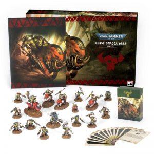 Games Workshop Warhammer 40,000  Beast Snagga Orks Beast Snagga Orks Army Box - 60010103001 - 5011921138395