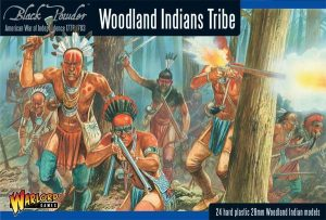 Warlord Games Black Powder  French / Indian War Woodland Indian Tribes - 302015501 - 5060393702603