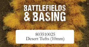 Warlord Games   Tufts Desert Tuft 10mm Tufts - 803510025 - 5060572502918