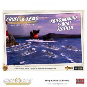Warlord Games Cruel Seas  Cruel Seas Cruel Seas: Kriegsmarine S-boat flotilla - 782012001 - 5060572501874