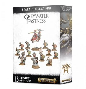Games Workshop Age of Sigmar  Cities of Sigmar Start Collecting! Greywater Fastness - 99120205037 - 5011921126378