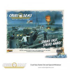 Warlord Games Cruel Seas  Cruel Seas Cruel Seas Starter Set - 781510001 - 5060393709671