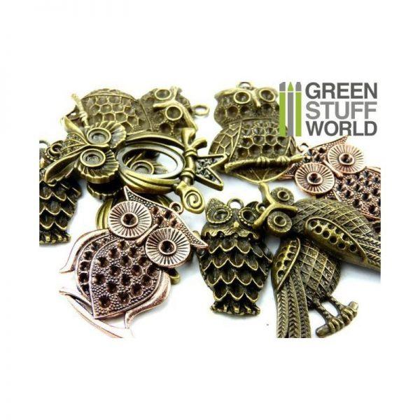 Green Stuff World   Modelling Extras Big OWL Beads 85gr - 8436554366033ES - 8436554366033
