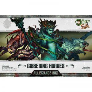 Wyrd The Other Side  Gibbering Hordes Gibbering Hordes Allegiance Box - Storm Siren - WYR40201 - 812152030299