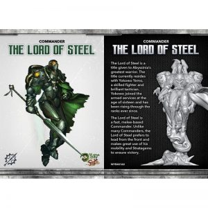 Wyrd The Other Side  Abyssinia The Lord of Steel - WYR40160 - 812152030268