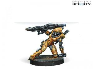 Corvus Belli Infinity  Yu Jing Wu Ming Assault Corps (Heavy RL) - 280388-0617 - 2803880006173