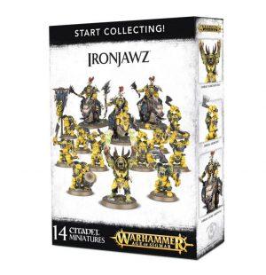Games Workshop Age of Sigmar  Orruk Warclans Start Collecting! Ironjawz - 99120209037 - 5011921076611