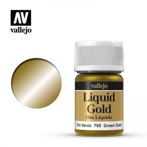 Vallejo   Liquid Gold Vallejo Liquid Green Gold - VAL795 - 8429551707954