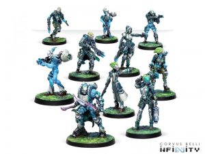 Corvus Belli Infinity  Tohaa Spiral Corps Army Pack - 280024-0768 - 2800240007689