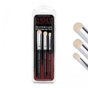 The Army Painter   Army Painter Brushes Masterclass Drybrush Set - APTL5054 - 5713799505407
