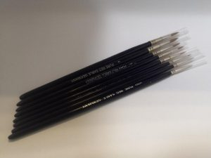 Gamescraft   Red Sable Brushes Red Sable Brush - size 0 - R0 - RED0